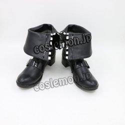 画像1: 東方Project 十六夜咲夜風 メイド コスプレ靴 ブーツ