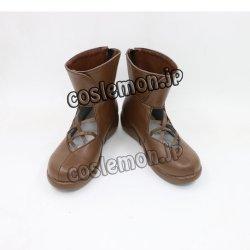 画像1: シャドウバース風 コスプレ靴 ブーツ