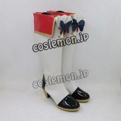画像3: アイカツスターズ!  虹野ゆめ風 コスプレ靴 ブーツ