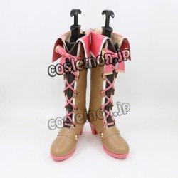 画像1: THE iDOLM@STER 一ノ瀬 志希風 コスプレ靴 ブーツ