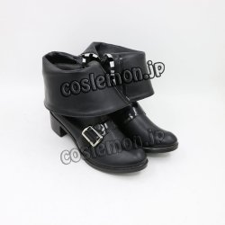 画像2: 東方Project 十六夜咲夜風 メイド コスプレ靴 ブーツ