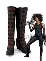 デッドプール Deadpool Domino 風 コスプレ靴 ブーツ
