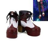 マクロスΔ レイナ·フラウラー風 コスプレ靴 ブーツ