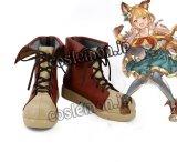 グランブルーファンタジー GRANBLUE FANTASY ケルベロス風 コスプレ靴 ブーツ