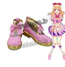 画像1: アイカツ! 星宮いちご風 02 コスプレ靴 ブーツ