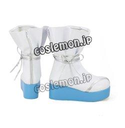 画像3: VOCALOID CHINA PROJECT 洛天依風 ルォ・テンイ コスプレ靴 ブーツ
