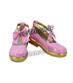 画像2: アイカツ! 星宮いちご風 02 コスプレ靴 ブーツ