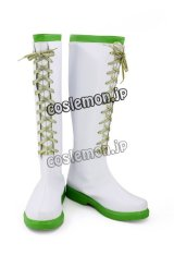 バトルガール ハイスクール サドネ風 02 コスプレ靴 ブーツ