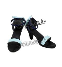 画像1: VOCALOID ボーカロイド ボカロ GUMI風 気まぐれメルシィ ダンス 巫女 風 コスプレ靴 ブーツ