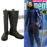 アベンジャーズ The Avengers Winter Soldier風 コスプレ靴 ブーツ