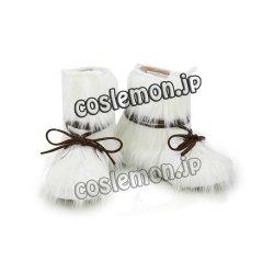 画像2: ゴールデンカムイ アシㇼパ風 コスプレ靴 ブーツ