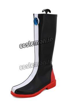 画像4: マクロス ダイナマイト7 熱気バサラ風 コスプレ靴 ブーツ