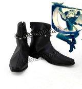 ロード・エルメロイII世の事件簿 グレイ風 コスプレ靴 ブーツ