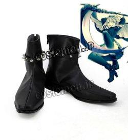 画像1: ロード・エルメロイII世の事件簿 グレイ風 コスプレ靴 ブーツ