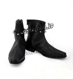 画像2: ロード・エルメロイII世の事件簿 グレイ風 コスプレ靴 ブーツ