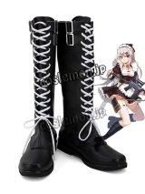 少女前線 Girls Frontline 9A91風 コスプレ靴 ブーツ