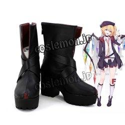 画像1: 東方Project フランドール・スカーレット風 03 コスプレ靴 ブーツ