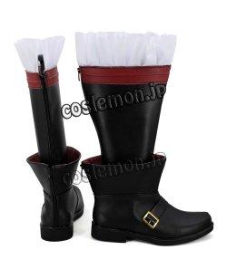 画像3: ファイナルファンタジーXIV FF14 黒魔道士風 BLACK MAGE 03 コスプレ靴 ブーツ