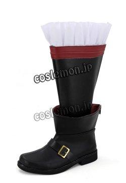 画像4: ファイナルファンタジーXIV FF14 黒魔道士風 BLACK MAGE 03 コスプレ靴 ブーツ