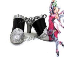 画像1: オーバーウォッチ Overwatch 天使 マーシー Mercy アンジェラ・ジーグラー風 06 コスプレ靴 ブーツ