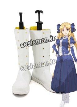 画像1: Fate/kaleid liner プリズマ☆イリヤ ルヴィアゼリッタ・エーデルフェルト風 コスプレ靴 ブーツ
