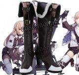 少女前線 Girls Frontline 2B14風 02 コスプレ靴 ブーツ