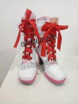 ラブライブ!スクフェスAC after school ACTIVITY 高坂穂乃果 小泉花陽風 コスプレ靴 ブーツ
