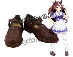 画像1: ウマ娘 プリティーダービー トウカイテイオー風 02 コスプレ靴 ブーツ