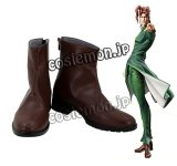 ジョジョの奇妙な冒険 花京院典明風 コスプレ靴 ブーツ