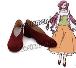 画像1: コードギアス反逆のルルーシュ ユーフェミア・リ・ブリタニア風 コスプレ靴 ブーツ