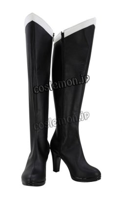 画像2: 美少女戦士セーラームーン 冥王せつな風 02 セーラープルート コスプレ靴 ブーツ
