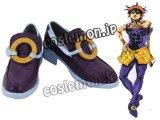 ジョジョの奇妙な冒険 ナランチャ・ギルガ風 コスプレ靴 ブーツ