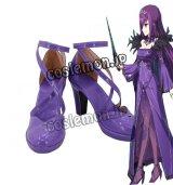 Fate/Grand Order フェイト・グランドオーダー スカサハ=スカディ風 コスプレ靴 ブーツ