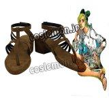 ジョジョの奇妙な冒険 空条徐倫風 コスプレ靴 ブーツ