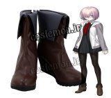 Fate/Grand Order フェイト・グランドオーダー マシュ・キリエライト風 コスプレ靴 ブーツ