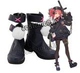 少女前線 Girls Frontline mp7風 コスプレ靴 ブーツ