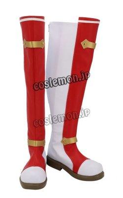 画像2: ファイアーエムブレム 封印の剣 リリーナ風 コスプレ靴 ブーツ