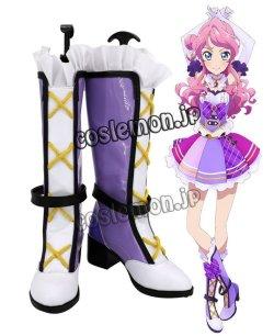 画像1: アイカツフレンズ! 蝶乃舞花風 ちょうの まいか コスプレ靴 ブーツ