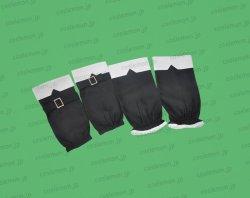 画像2: クイズマジックアカデミー ユリ風 黒 ●コスプレ衣装