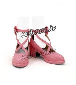 画像1: バンドリ! ガールズバンドパーティ 丸山彩風 コスプレ靴 ブーツ