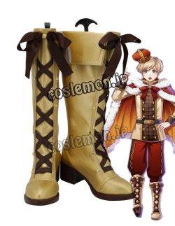 画像1: 夢王国と眠れる100人の王子様 ナビット風 コスプレ靴 ブーツ