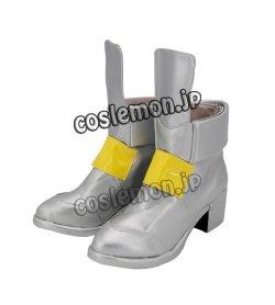 画像4: 魔法少女リリカルなのは 高町なのは風 02コスプレ靴 ブーツ