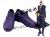 ジョジョの奇妙な冒険 黄金の風 ジョジョの奇妙な冒険 レオーネ・アバッキオ風/Leone Abbacchio コスプレ靴 ブーツ