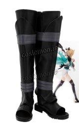 Fate/Grand Order フェイト/グランドオーダー セイバー 沖田総司風 02 コスプレ靴 ブーツ
