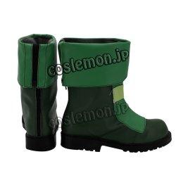 画像4: メイドインアビス プルシュカ風 コスプレ靴 ブーツ