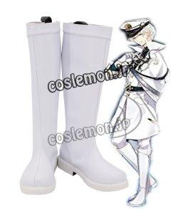 画像1: ツキウタ。 Procellarumユニット曲 ONE CHANCE? 霜月隼風 02 コスプレ靴 ブーツ