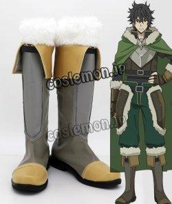 画像1: 盾の勇者の成り上がり 岩谷尚文風 02 コスプレ靴 ブーツ