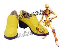 画像1: ジョジョの奇妙な冒険 ジョルノ・ジョバァーナ風 02 コスプレ靴 ブーツ