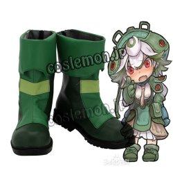 画像1: メイドインアビス プルシュカ風 コスプレ靴 ブーツ