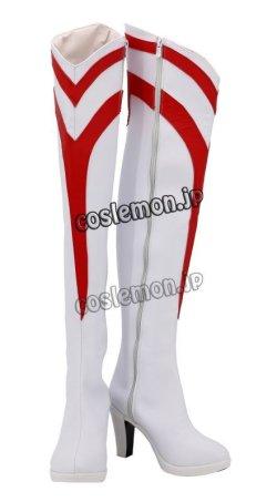 画像2: ウルトラマンオーブ ゾフィー風 コスプレ靴 ブーツ